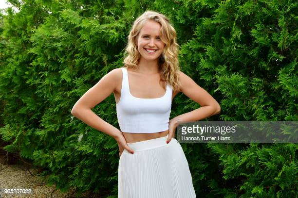 Sailor Brinkley Cook attends AVENUE on the Beach Celebrates Sailor Brinkley Cook And Our May/June Issue at Calissa on May 22, 2018 in Water Mill, NY.