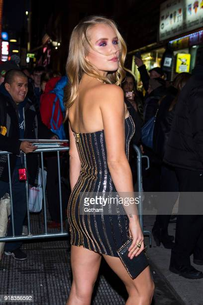 Sailor Brinkley Cook attends the Sports Illustrated Swimsuit 2018 launch event at the Moxie Hotel on February 14 2018 in New York City