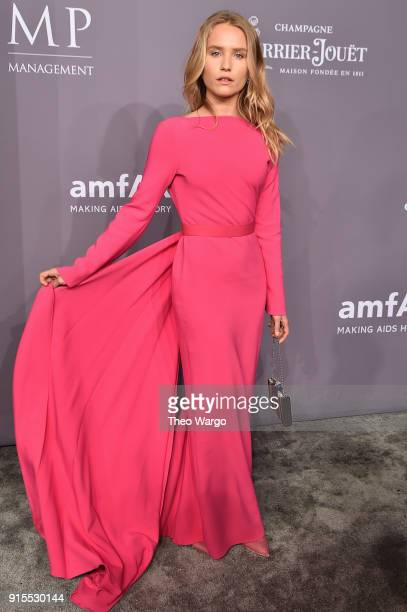 Sailor BrinkleyCook attends the 2018 amfAR Gala New York at Cipriani Wall Street on February 7 2018 in New York City
