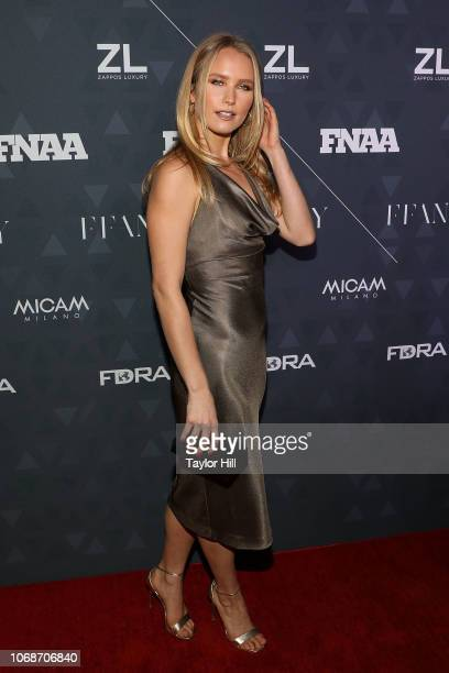 Sailor Brinkley-Cook attends the 2018 Footwear News Achievement Awards at IAC Headquarters on December 4, 2018 in New York City.