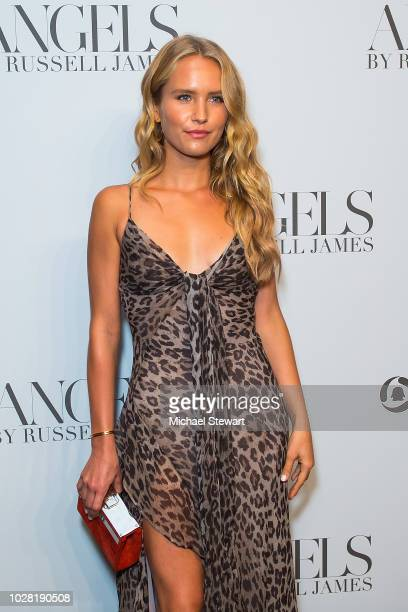 Sailor Brinkley-Cook attends the Russell James 'Angels' book launch & exhibit at Stephan Weiss Studio on September 6, 2018 in New York City.