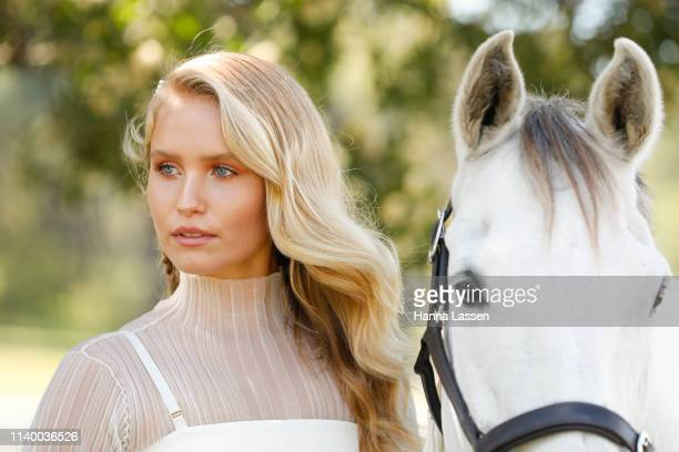 Sailor Lee BrinkleyCook attends the ATC Autumn Fashion Lunch at Wisteria on April 03 2019 in Sydney Australia