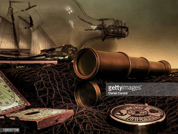 sailor objects - ship in a bottle stock pictures, royalty-free photos & images
