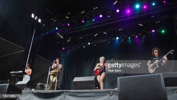 Sailor Poon performs onstage during weekend one day three of Austin City Limits Music Festival at Zilker Park on October 7 2018 in Austin Texas