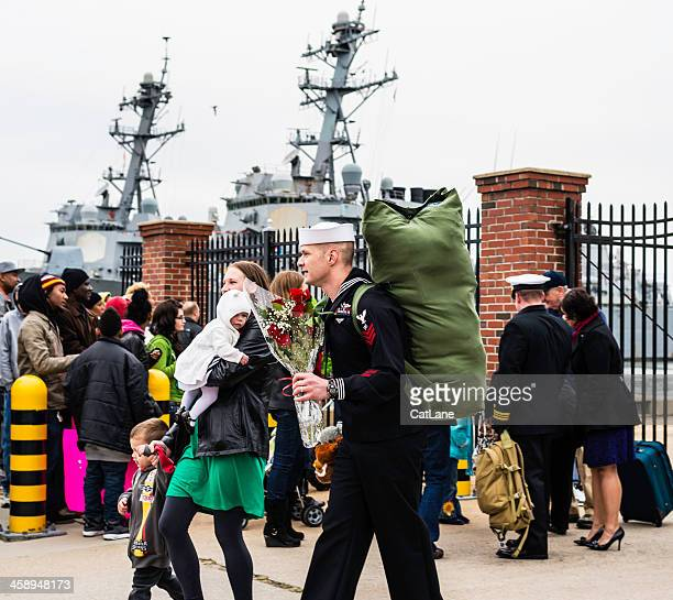 Sailor Returns From Deployment
