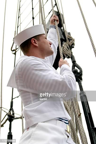 """Le Sailor """"s journée en mer."""