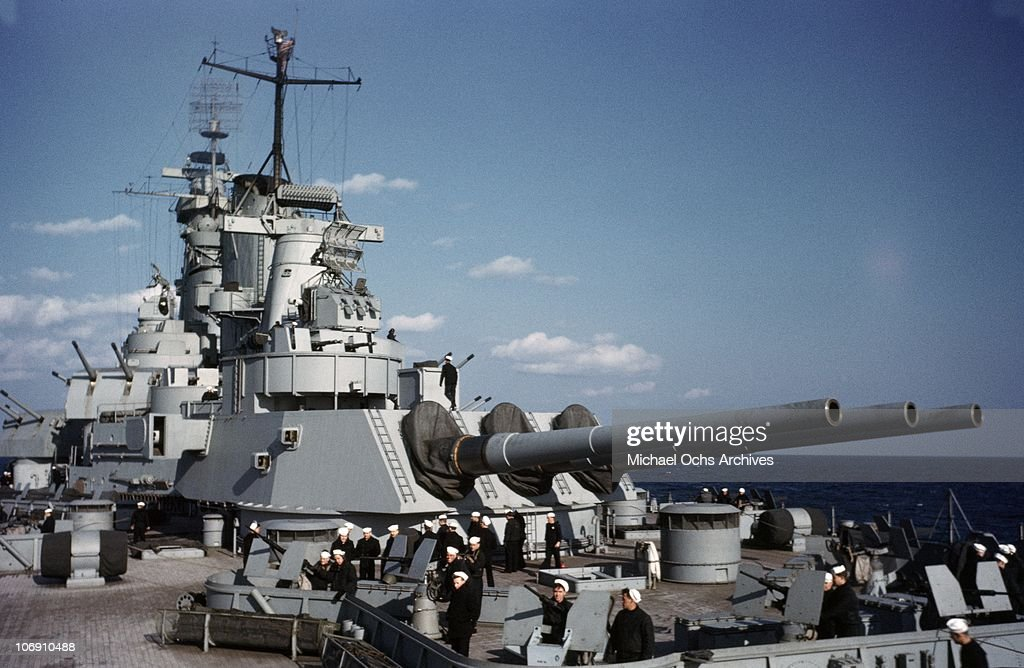 USS Iowa : News Photo