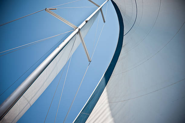 Sails Against A Clear Blue Sky