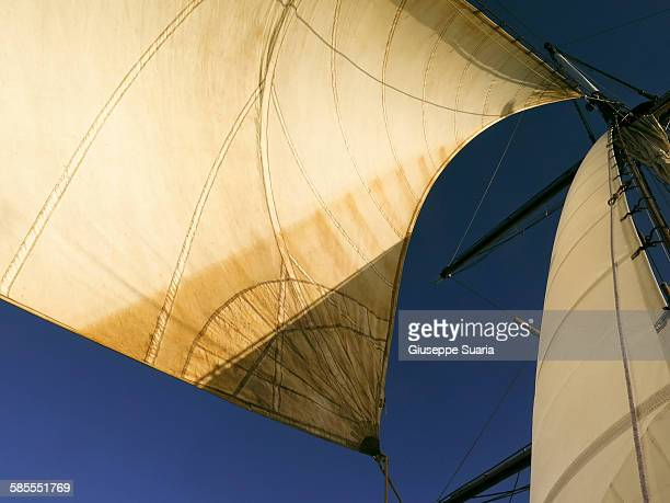 sails - sail boom stock pictures, royalty-free photos & images