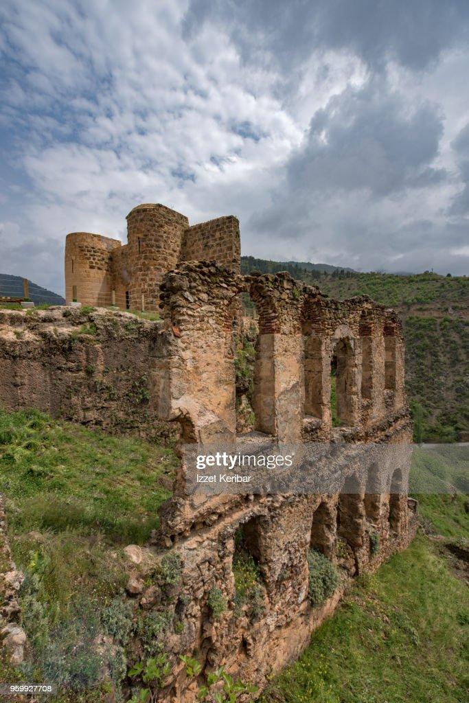 Saimbeylli  historical castle , Taurus mountans southern Turkey : Stock-Foto