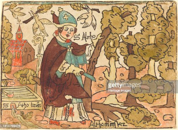 Saint Alto, c. 1500. Artist Unknown.
