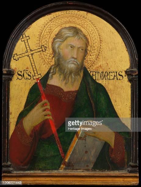 Saint Andrew, circa 1317-19. Artist Workshop of Simone Martini.