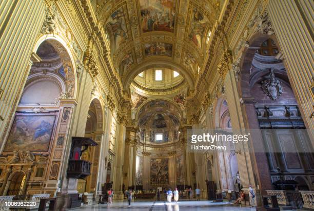 sant andrea della valle basilica - british royalty stock pictures, royalty-free photos & images