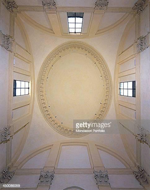 Saint Andrew on via Flaminia by Barozzi Jacopo known as Vignola 1551 1553 16th Century visible Roman brick work
