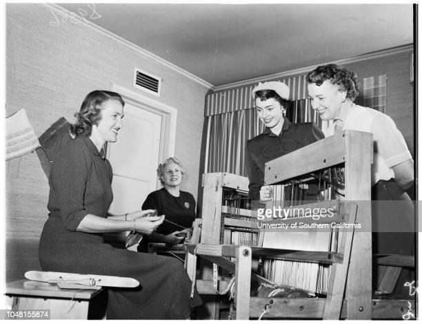 Saint Anne's Hospital Bazaar 6 November 1951 Mrs Van Rensselaer KelseyMrs Harold McAlisterMary McCareyMrs Richard McKibbenMrs Morton StoneMrs Norman...