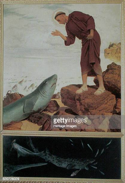 Saint Anthony Preaching to the Fish Found in the collection of Kunsthaus Zürich