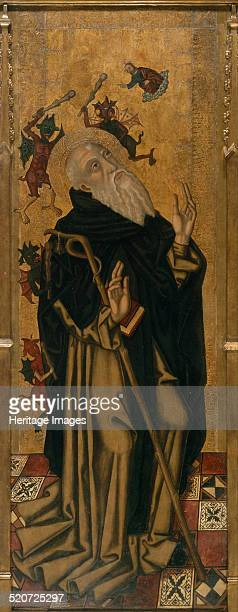 Saint Anthony the Abbot Tormented by Demons Found in the collection of Museu Nacional d'Art de Catalunya Barcelona