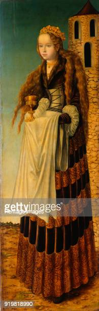Saint Barbara circa 1516 Found in the collection of Dresden State Art Collections