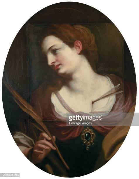 Saint Barbara. Found in the Collection of Musei di Strada Nuova, Genoa.