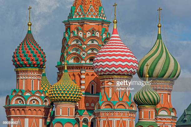 Saint Basil's Cathedral in Moscow,Russia