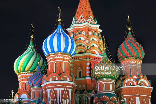 Saint Basils cathedral on red square, Moscow