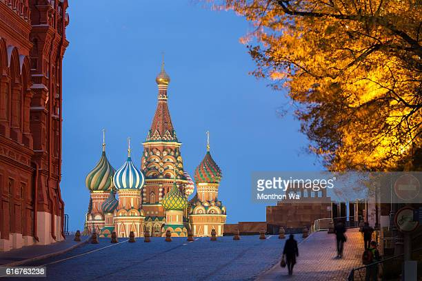 saint basil's cathedral - red square stock pictures, royalty-free photos & images
