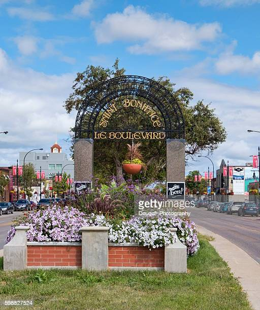 Saint Boniface, Manitoba along Provencher Blvd in Summer