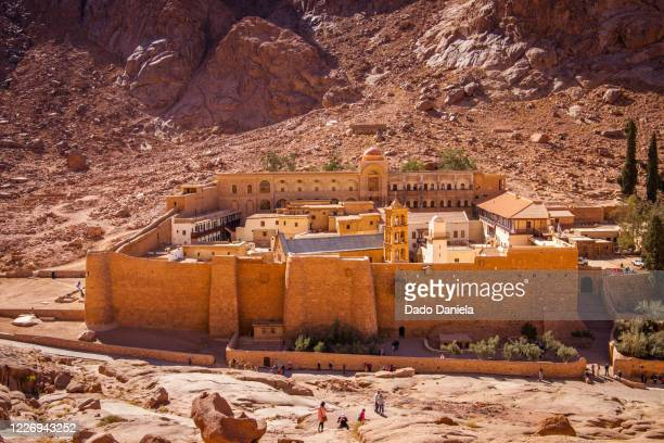 saint catherine monastery - sinai egypt stock pictures, royalty-free photos & images