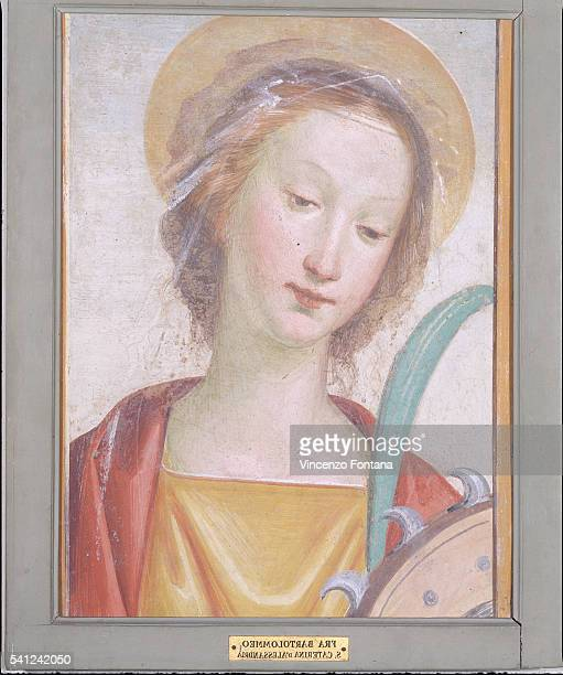 Saint Catherine of Alexandria by Fra Bartolomeo