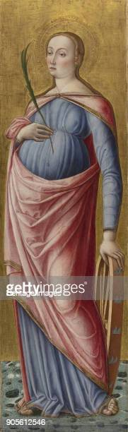 Saint Catherine of Alexandria Private Collection