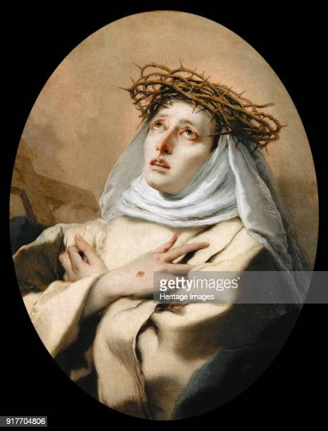 Saint Catherine of Siena Found in the Collection of Art History Museum Vienne