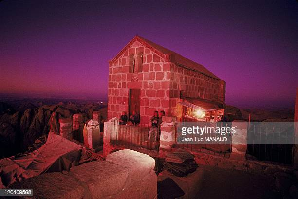 Saint Catherine's monastery in Sinai Egypt The chapel of Mount Moses