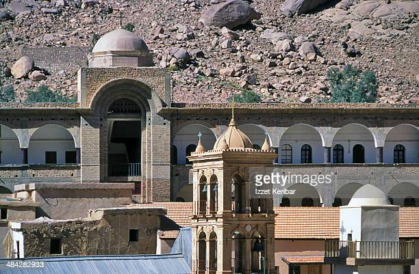 saint catherine's monastery - tourism in south sinai stock pictures, royalty-free photos & images