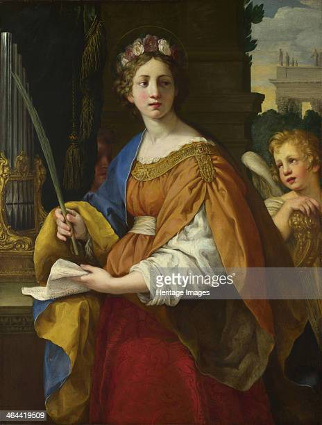 Saint Cecilia 16201625 Found in the collection of the National Gallery London