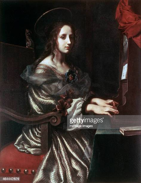 'Saint Cecilia' 1640s St Cecilia is the patron saint of musicians and Chuch music Found in the collection of the State Hermitage St Petersburg