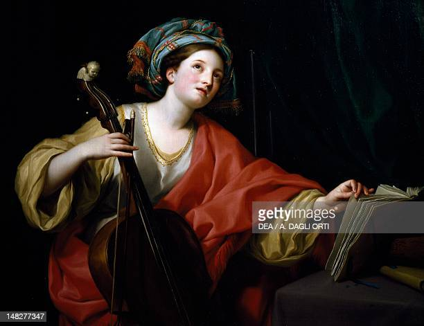 Saint Cecilia 17601761 by Anton Raphael Mengs oil on canvas 94x122 cm