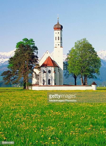 Saint Coleman's Church, Schwangau, Romantic Route Road, Germany