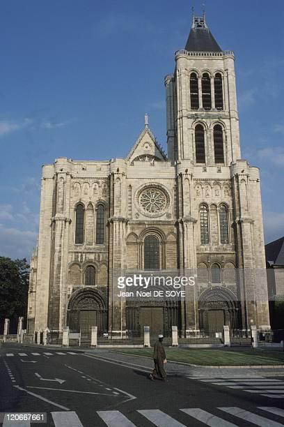 Saint Denis basilica in Suburb of Paris in France.