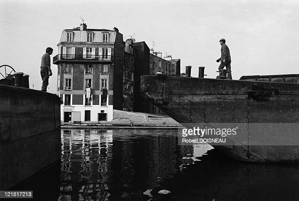 Saint Denis Suburbs Docking On The Seine