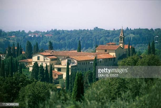 Saint Domenico Convent Fiesole Tuscany Italy 15th century