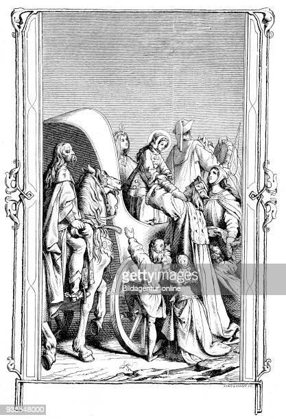 Saint Elizabeth of Hungary, Heilige Elisabeth von Thueringen, 1207 - 1231, also known as Saint Elizabeth of Thuringia, was a princess of the Kingdom...