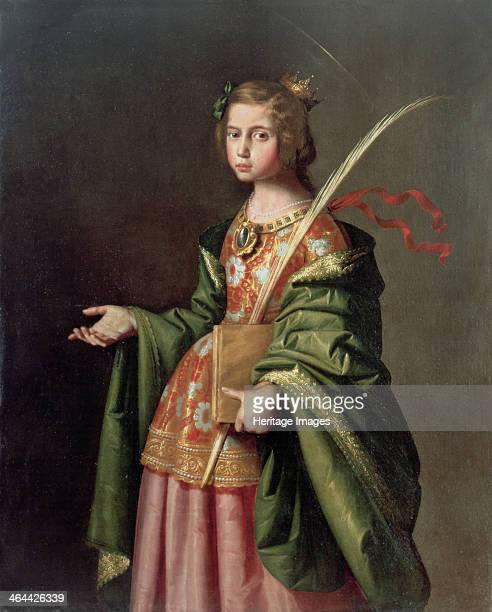 Saint Elizabeth of Thuringia, ca 1637-1640. Found in the collection of the Museo de Bellas Artes de Bilbao.