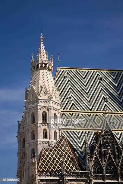 saint etienne cathedral, vienna, austria - vienne autriche photos et images de collection