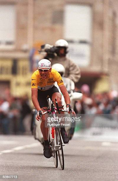 Saint - Etienne, Jan ULLRICH/GER Einzelzeitfahren 18.07.97