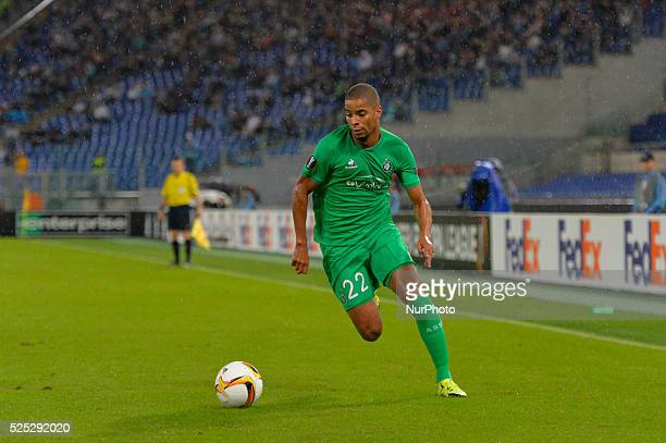 Saint Etienne's forward Kevin Monnet Paquet during the Europe League football match SS Lazio vs AS Saint��tienne at the Olympic Stadium in Rome on...