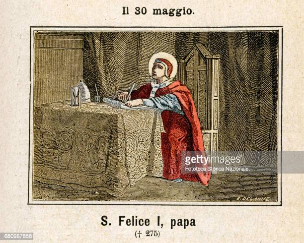 Saint Felix The Pope was the 26th pope of the Catholic Church who venerated as a saint It was pope from 5 January 269 to 30 December 274...