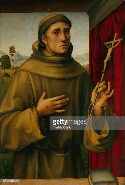 Saint Francis by Francesco Francia