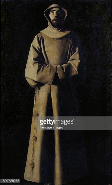 Saint Francis of Assisi after the Vision of Pope Nicholas V Found in the collection of Museu Nacional d'Art de Catalunya Barcelona