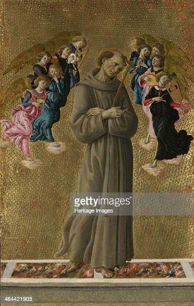 Saint Francis of Assisi with Angels ca 1475 Found in the collection of the National Gallery London