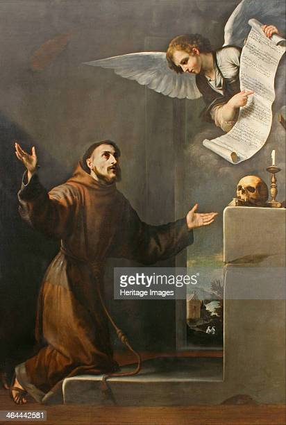 Saint Francis receives the Stigmata First third of 17th cen Found in the collection of the Musei di Strada Nuova Genoa